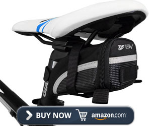 Bv USA Bicycle Strap-On Saddle Bag