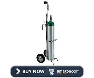 E Deluxe Oxygen Tank Cart