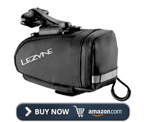 Lezyne Caddy Qr Rail Mount Bicycle Saddle Bag