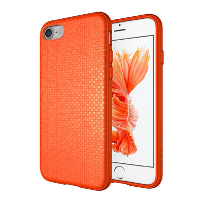 iphone-7-case-diztronic-pixlee-soft-touch-slim-fit-flexible-tpu-case-for-apple-iphone-7-pixlee-orange
