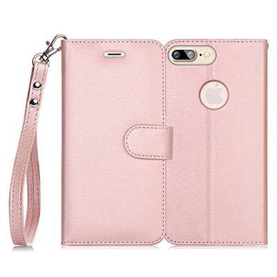 iphone-7-case-fyy-rfid-blocking-wallet-100-handmade-iphone-7-wallet-case-stand-cover-with-credit-card-protector-rose-gold