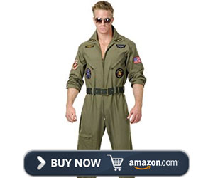 Charades Men's Wingman Flight Jumpsuit