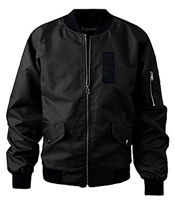 majeclo-mens-casual-lightweight-slim-fitted-ma-1-flight-bomber-jacket