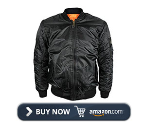 Maximos Men's Flight Pilot Bomber Jacket
