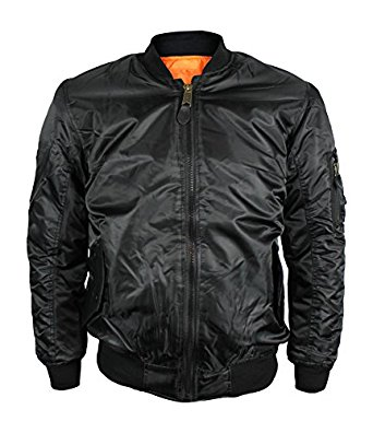 new-maximos-mens-water-resistant-reversible-flight-pilot-bomber-jacket