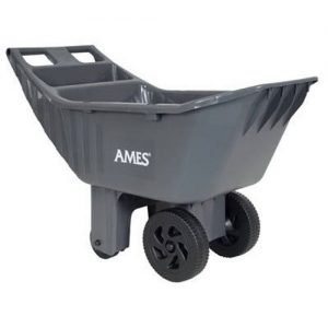 Ames 2463875 Easy Roller Poly Yard Cart