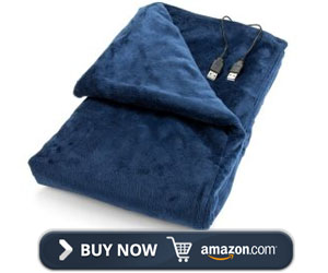 Convenient Gadgets & Gifts Heated Lap Electric Blanket