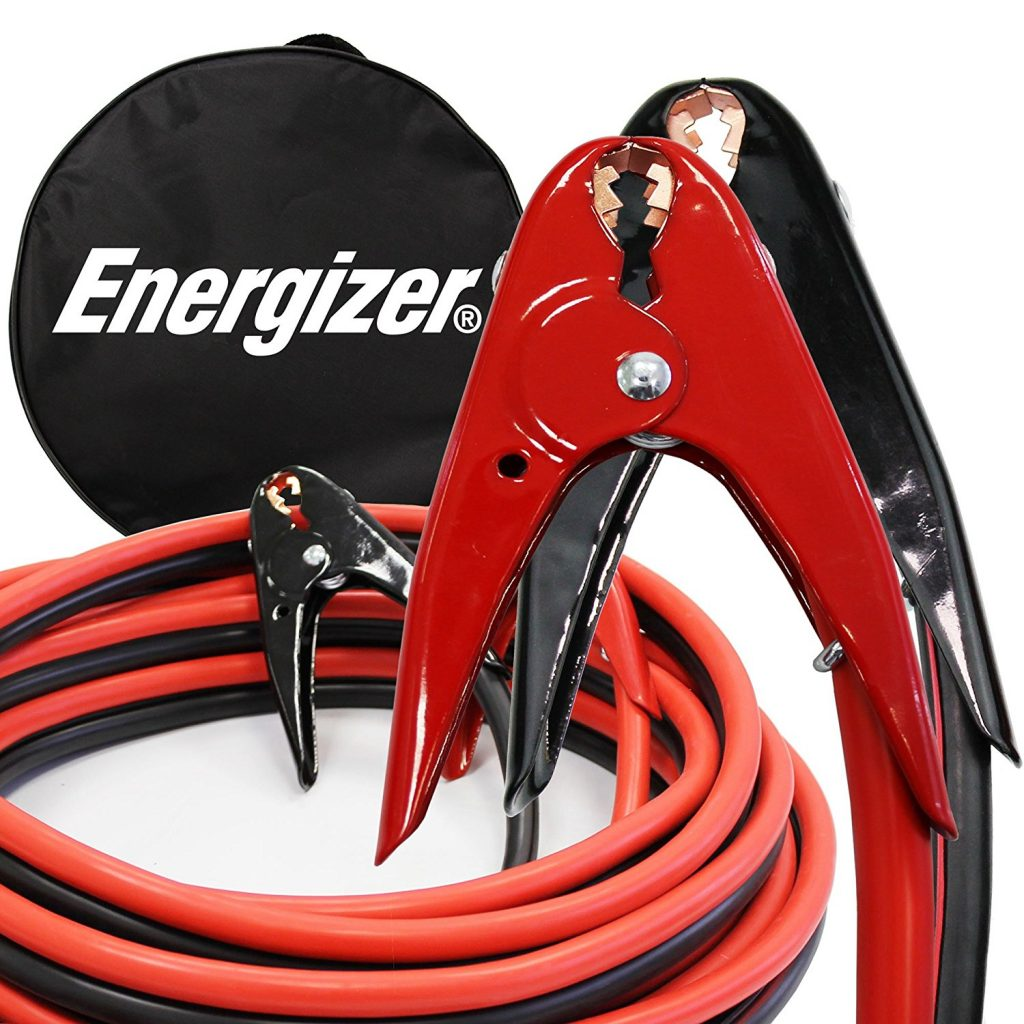 Energizer 1-Gauge 800A Heavy Duty Jumper Battery Cables
