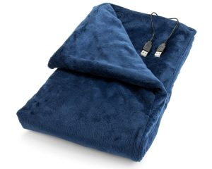 Heated Lap Electric Blanket from Convenient Gadgets & Gifts