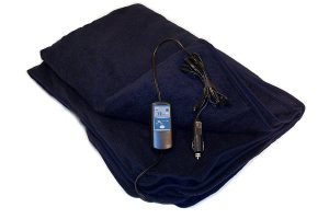 Heated Travel Blanket from Trillium Worldwide