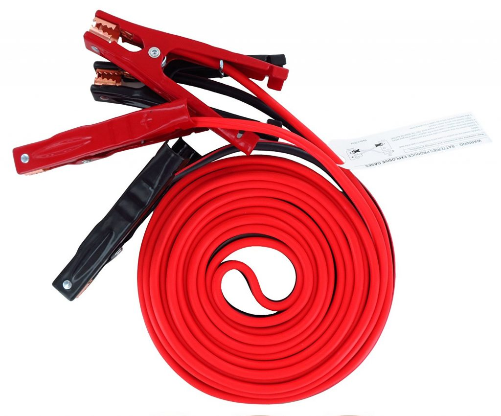 Iron forge 20 Foot Jumper Cables