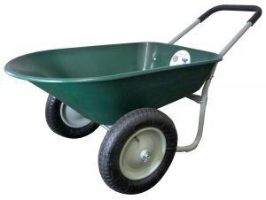Marathon Dual-Wheel Yard Cart