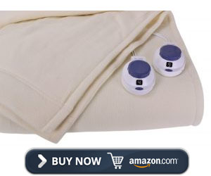 Soft Heat Electric Heated King Sized Blanket