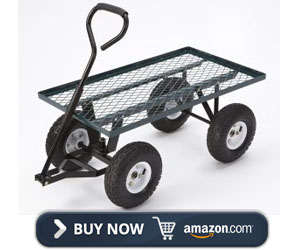 Tricam Farm & Ranch FR100F Steel Flatbed Utility Cart