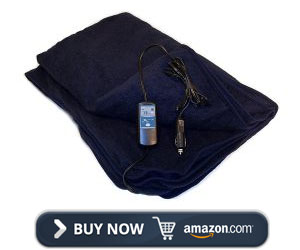 Trillium Worldwide Heated Travel Blanket