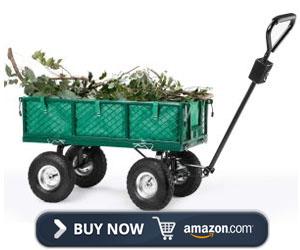 VonHaus All Terrain Garden Utility Cart