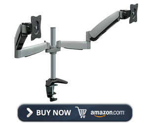 Mount-It! Height Adjustable Monitor arm