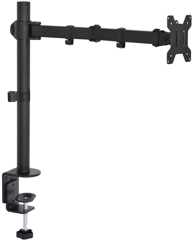 Ergonomic Dual Adjustable Monitor Arm Wall Mount Guide