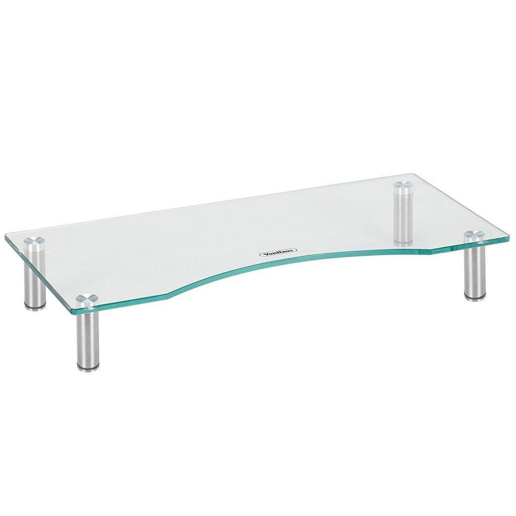 VonHaus-Curved-Glass-Monitor-Stand