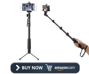 Accmor Extendable Self Portrait Selfie Stick
