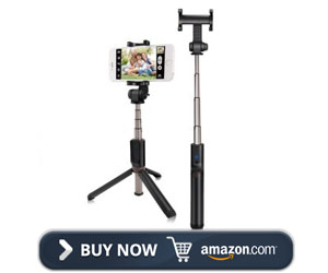 Kungfuren Bluetooth Remote Selfie Stick