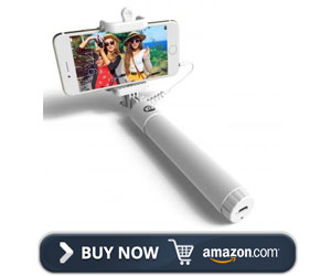 Perfect Day Quick snap Wired Selfie Stick