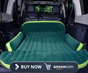 Merging Inflatable Car Air Bed