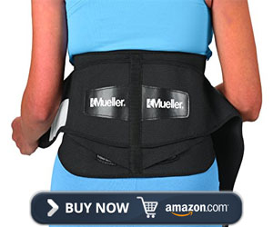 Mueller 255 Lumbar Support Back Brace